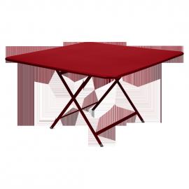 Fermob Caractère : Table pliante 128 x 128cm