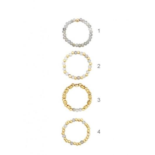 Antik Celest ringen Labradorite