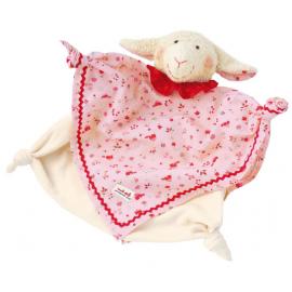 Lambada l'agneau : doudou en coton