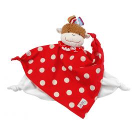 Cara Melo polka-dot aap: knuffel