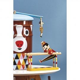 Pirouette de acrobaat