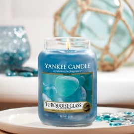 Yankee Candle Turquoise Glass