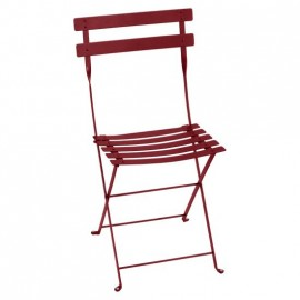 Fermob Bistro : Chaise pliante métal