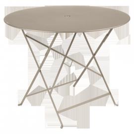 Fermob Bistro : Table pliante D96cm métal
