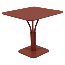 Fermob Luxembourg : table pied central 80x80cm