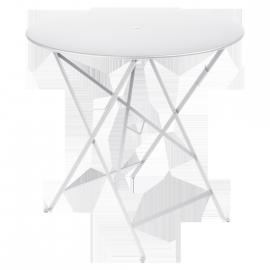 Fermob Bistro : Table pliante D77cm métal