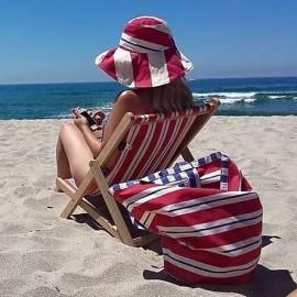 Kiinder Houten strandstoel
