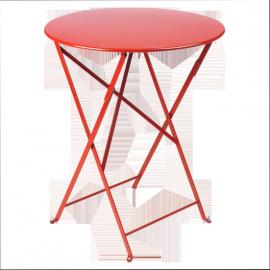 Fermob Bistro : Table pliante D60cm métal