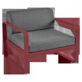 Fermob Bellevie : fauteuil, coussin Gris Graphite