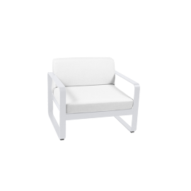 Fermob Bellevie : fauteuil, coussin Off White