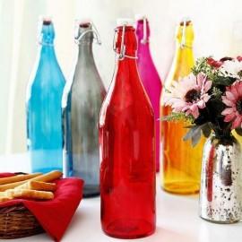 Glazen fles 1L
