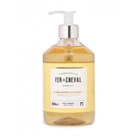 Fer à Cheval : Savon liquide parfumé Miel & Amande