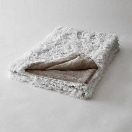 Plaid ultra-doux neige XL