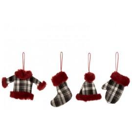 Suspension Noël vêtements d'hivers