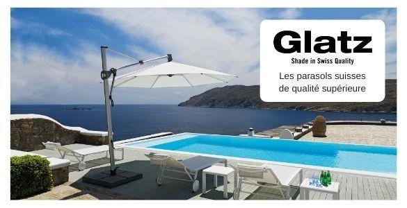 Les parasols GLATZ sont de première qualité